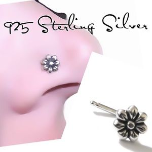 Daisy Flower Nose Ring/Stud/Screw